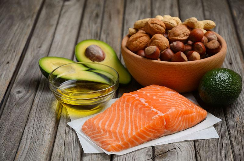 alimentos que contengan grasas saludables