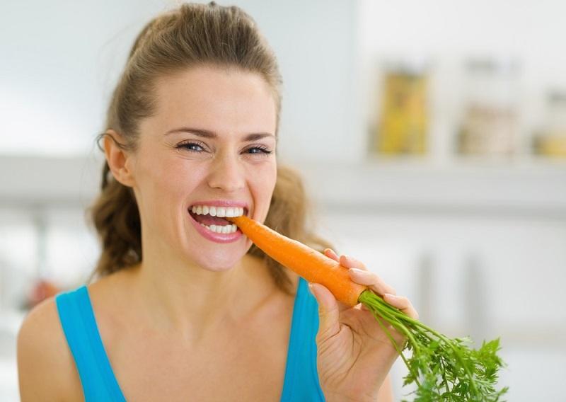 la zanahoria ayuda a la piel